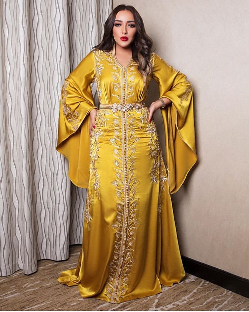 Caftan marocain haute couture pas cher