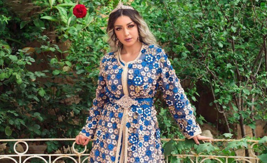 Caftan marocain grande taille