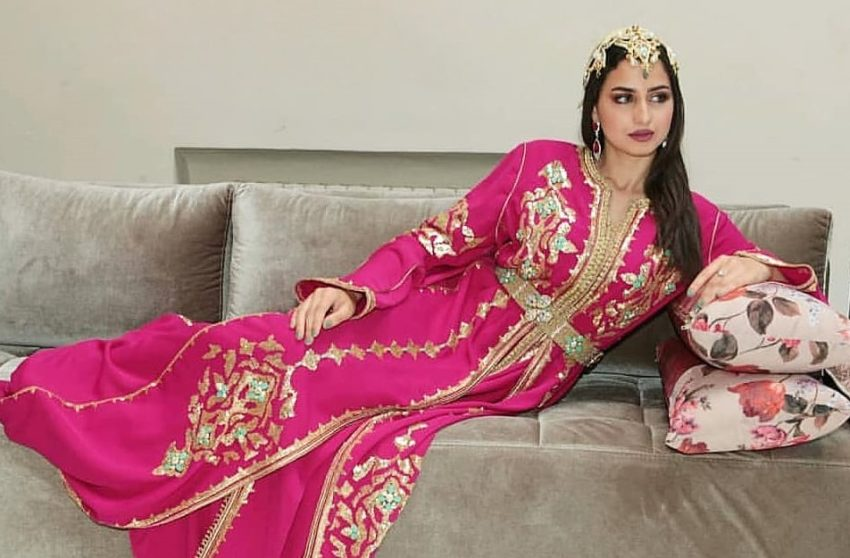 Caftan traditionnel pour mariage