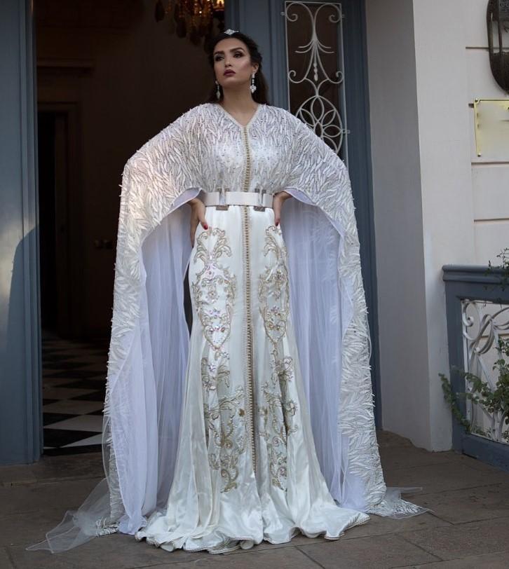 Caftan Blanc pour mariée