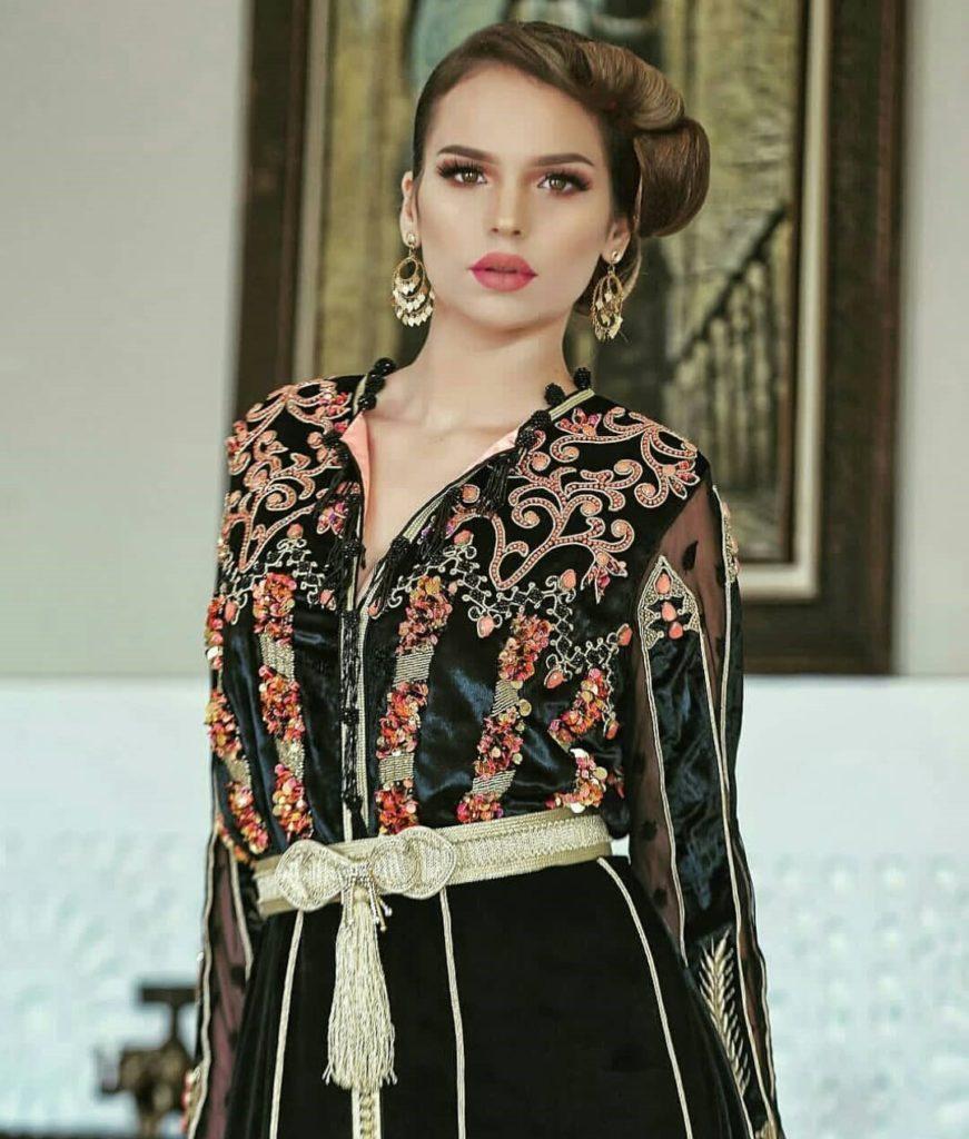 Caftan haute couture Velours