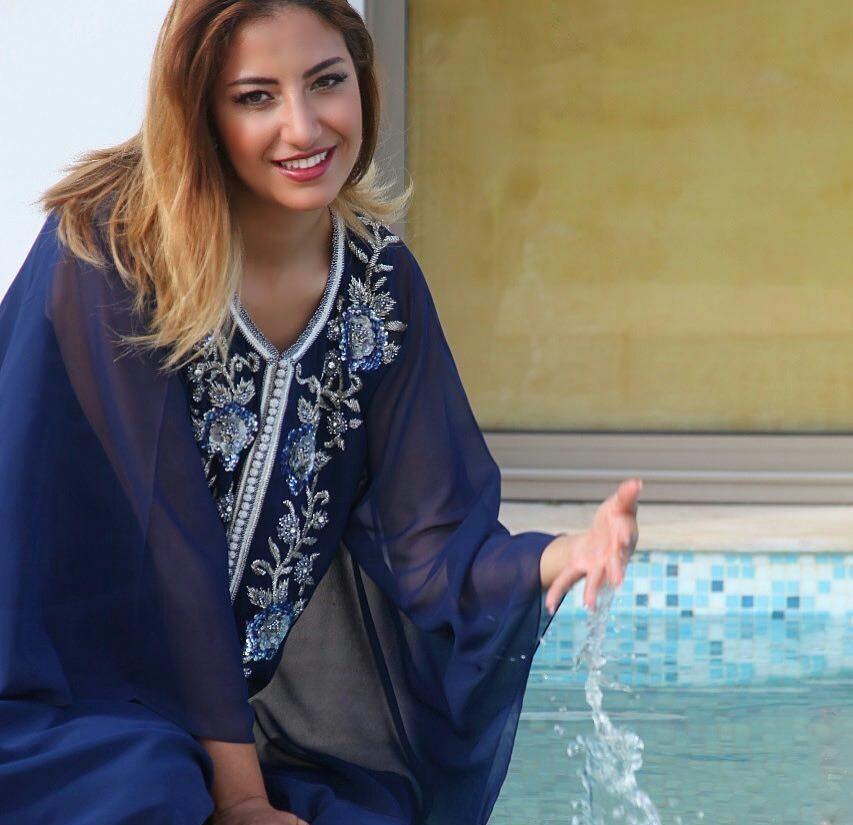 Gandoura femme chic Style farasha