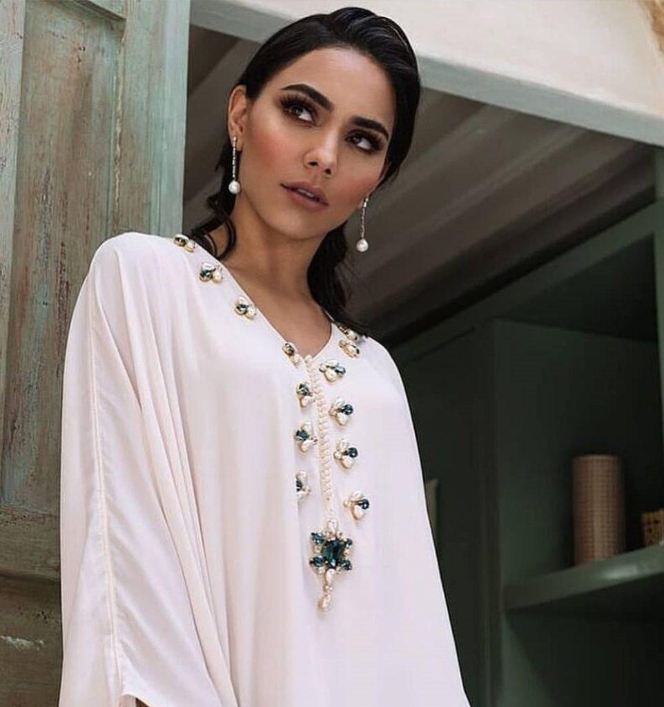 Gandoura femme moderne style Farasha