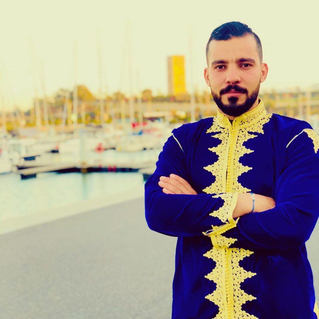 jabador marocain homme Bleu