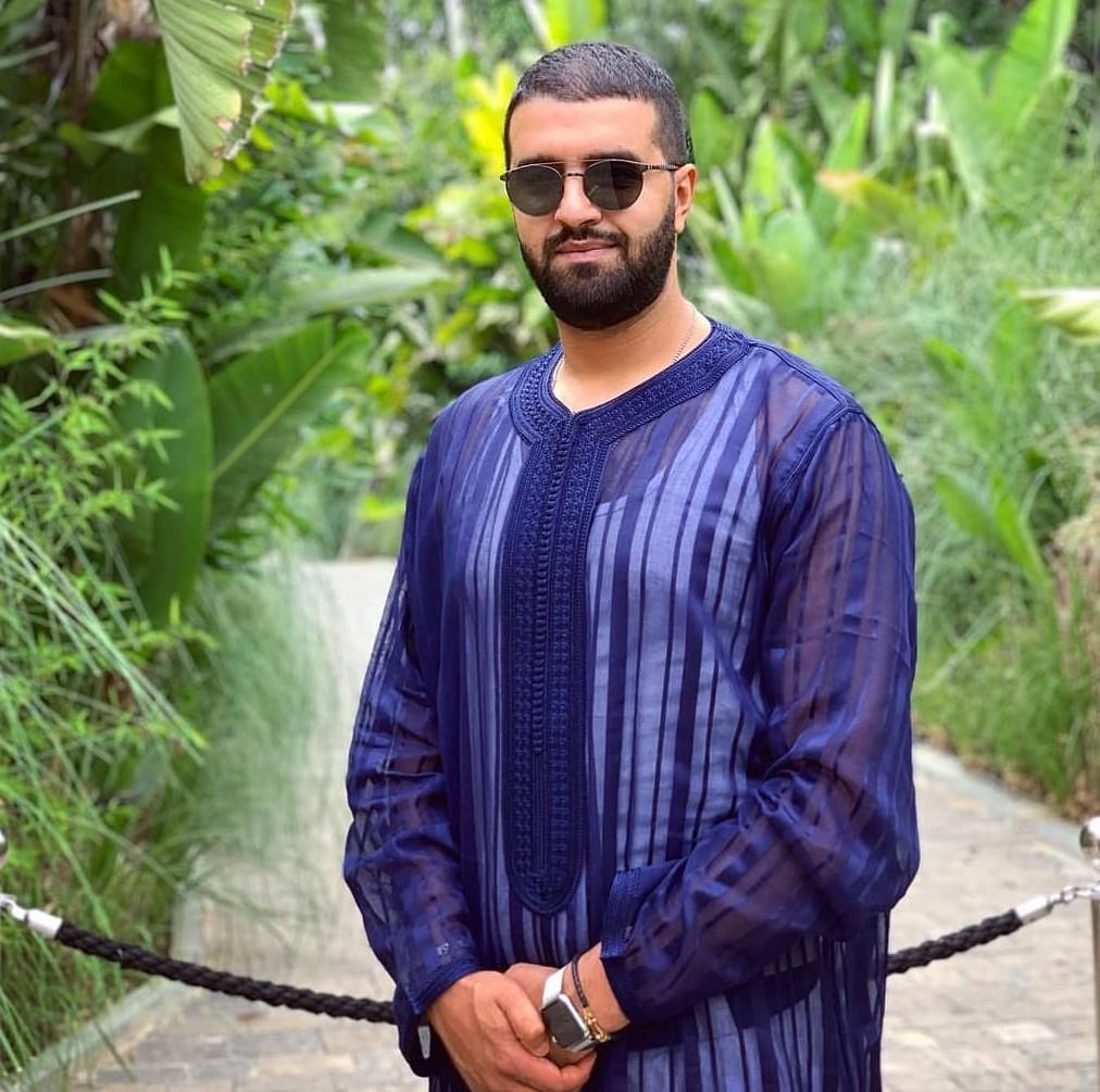 Gandoura marocaine pour homme