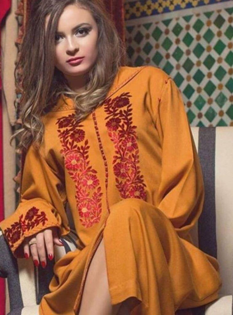 Djellaba femme 2021 chic style moderne