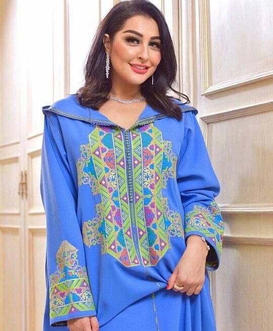 Djellaba marocaine 2021 femme chic